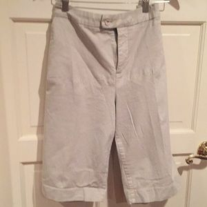 NYDJ khaki shorts worn once excellent condition
